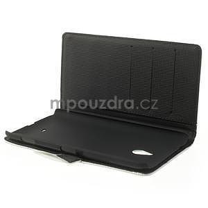 Peňaženkové puzdro pre Nokia Lumia 1320- biele - 5