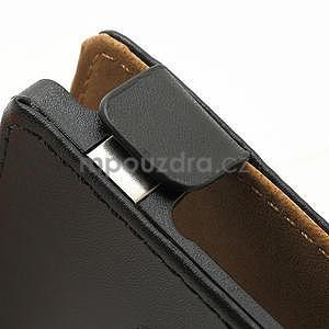 Flipové čierné puzdro pre Nokia Lumia 925 - 5