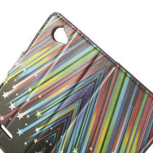 Peňaženkové puzdro na Sony Xperia L C2105 - meteor - 5
