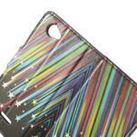 Peňaženkové puzdro na Sony Xperia L C2105 - meteor - 5/7