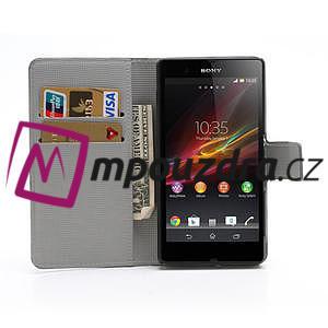 Peňaženkové puzdro pre Sony Xperia Z C6603 - farebné vzory - 5