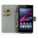 Peněženkové pouzdro na Sony Xperia Z1 C6903 L39- zebrované - 5/7