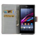 Peňaženkové puzdro pre Sony Xperia Z1 C6903 L39- USA vlajka - 5/7