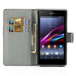 Peněženkové pouzdro na Sony Xperia Z1 C6903 L39- vzorové - 5/7