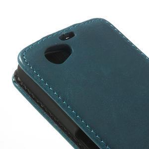 Flipové puzdro na Sony Xperia Z1 Compact D5503- modré - 5