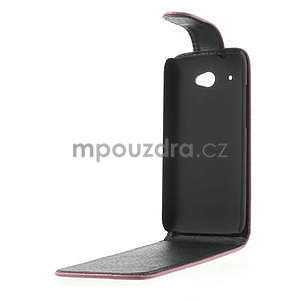 Flipové puzdro pre HTC Desire 601- růžové - 5