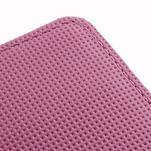 Peňaženkové puzdro pre LG Optimus L5 Dual E455-barevní motýli - 5/5