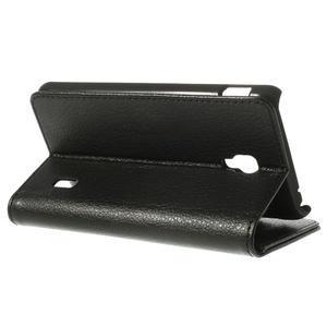Peňaženkové puzdro na LG Optimus F6 D505- čierné - 5