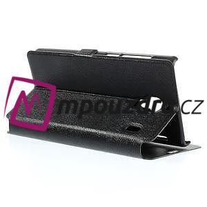 Peňaženkové  puzdro na Xiaomi Hongmi Red Rice- čierné - 5