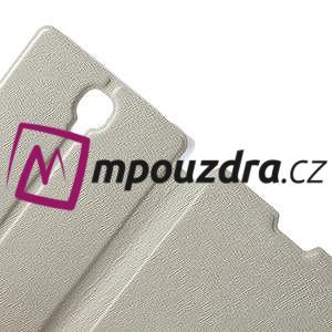 Peňaženkové puzdro na Xiaomi Hongmi Note- biele - 5