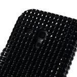 Čierné puzdro pre Samsung Galaxy S3 mini / i8190 - kamínkové - 5/5