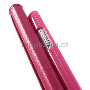 Růžové puzdro pre Samsung Galaxy S3 mini / i8190 - kamínkové - 5