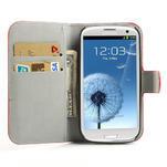 Peňaženkové puzdro pre Samsung Galaxy S3 i9300- USA vlajka - 5/7