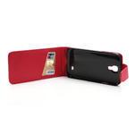 Flipové pouzdro pro Samsung Galaxy S4 i9500- červené - 5/5