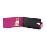 Flipové pouzdro pro Samsung Galaxy S4 i9500- růžové - 5/5