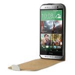 Flipové puzdro pre HTC one M8- biele - 5/7