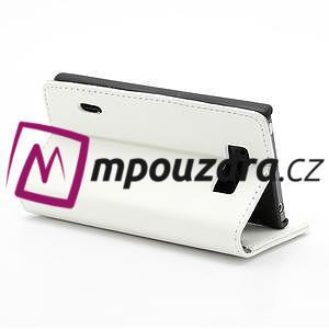 Peňaženkové puzdro na LG Optimus L7 P700 - biele - 5