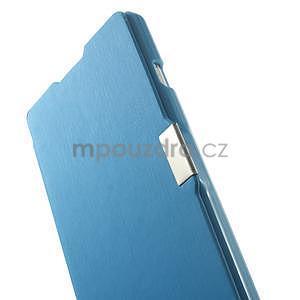 Flipové puzdro pre LG Optimus L9 P760- modré - 5