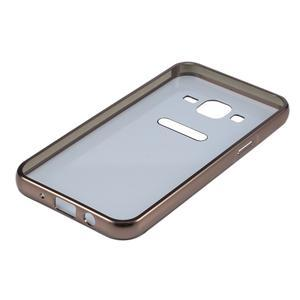 Odolný obal s kovovým obvodem na Samsung Galaxy J5 (2016) - černý - 5