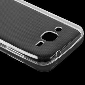 Transparentný ultratenký gélový obal pre mobil Samsung Galaxy J1 (2016) - 5