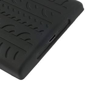 Silokonové PNEU puzdro na Nokia Lumia 920-čierné - 5