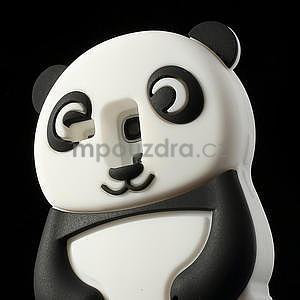 3D Silikonové puzdro pre Samsung Galaxy S3 mini / i8190 - vzor čierná panda - 5
