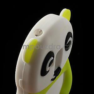 3D Silikonové puzdro pre Samsung Galaxy S3 mini / i8190 - vzor zelená panda - 5