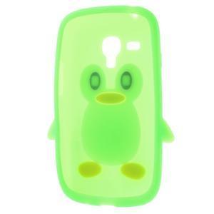 Silikonový TUČŃÁK puzdro na Samsung Galaxy S3 mini i8190- zelený - 5