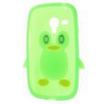 Silikonový TUČŃÁK puzdro na Samsung Galaxy S3 mini i8190- zelený - 5/7