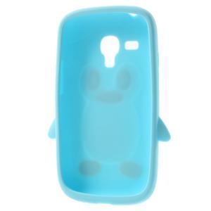 Silikonový TUČŃÁK puzdro na Samsung Galaxy S3 mini i8190- světlemodrý - 5