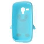 Silikonový TUČŃÁK puzdro na Samsung Galaxy S3 mini i8190- světlemodrý - 5/7