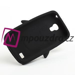 Silikon 3D TUČŇÁK pro Samsung Galaxy S4 mini i9190- čierný - 5