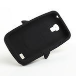 Silikon 3D TUČŇÁK pro Samsung Galaxy S4 mini i9190- čierný - 5/5