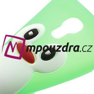 Silikon 3D TUČŇÁK pro Samsung Galaxy S4 mini i9190- zelený - 5