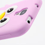 Silikonový Tučniak puzdro pro Samsung Galaxy S4 i9500- svetlo-ružový - 5/7