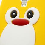 Silikonový Tučniak puzdro pro Samsung Galaxy S4 i9500- žltý - 5/7
