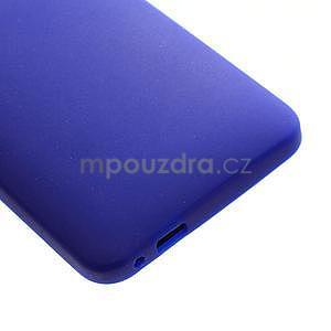 Silikonové puzdro pre HTC one M7- modré - 5