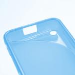 Gélové S-line puzdro na Nokia Lumia 620- modré - 5/5