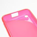 Gélové S-line puzdro na Nokia Lumia 620- ružové - 5/5
