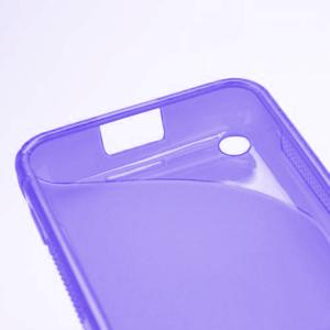 Gélové S-line puzdro na Nokia Lumia 620- fialové - 5