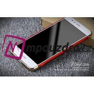 Luxusné odolný obal 3v1 pre mobil Honor 8 - červený - 5