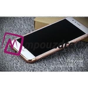 Luxusné odolný obal 3v1 pre mobil Honor 8 - zlatoružový - 5