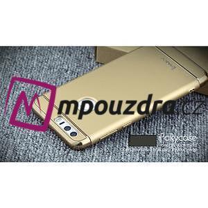 Luxusné odolný obal 3v1 pre mobil Honor 8 - zlatý - 5