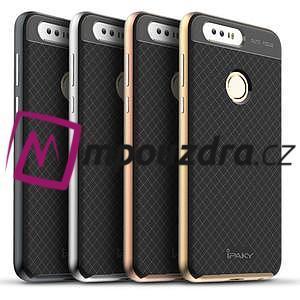 Odolný obal 2v1 na mobil Honor 8 - šedý - 5