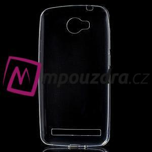 Superslim gélový obal na Huawei Y3 II - transparentní - 5