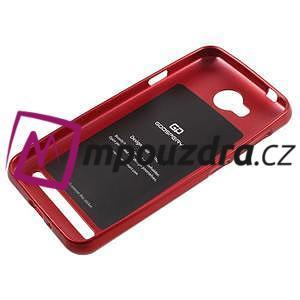 Luxusní gélový obal na mobil Huawei Y3 II - červený - 5