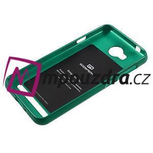 Luxusní gélový obal na mobil Huawei Y3 II - zelený - 5
