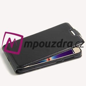 Flipové PU kožené puzdro na Huawei Y3 II - čierne - 5
