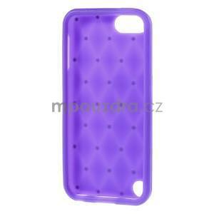 Brite silikónový obal s kamienkami iPod Touch 6 / Touch 5 - fialový¨ - 5