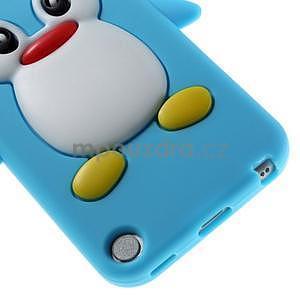 Penguin silikónový obal na iPod Touch 6 / iPod Touch 5 - svetlomodrý - 5